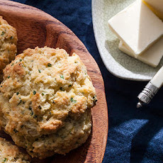 Lemon-Chive Biscuits