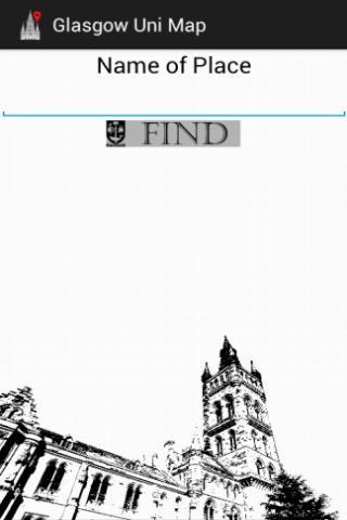 Glasgow Uni Map