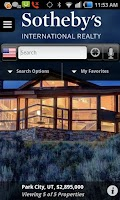 Screenshot of Sotheby's International Realty