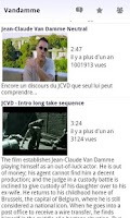 Screenshot of Vandamme Quotes
