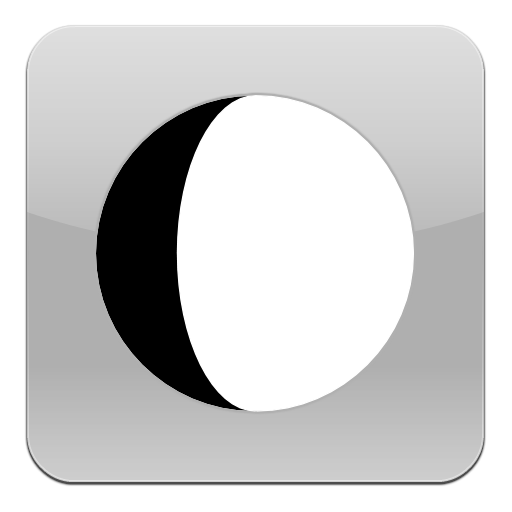 Moon black & white 個人化 LOGO-玩APPs