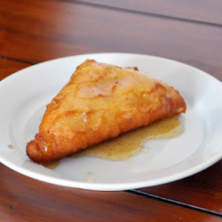 Fried Scones with Cinnamon Honey Butter
