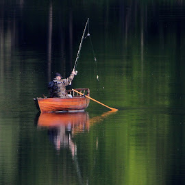 fishing by Jože Borišek - Sports & Fitness Other Sports ( slovenia )