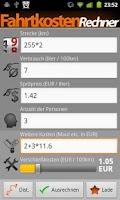 Screenshot of Fare Calculator Pro