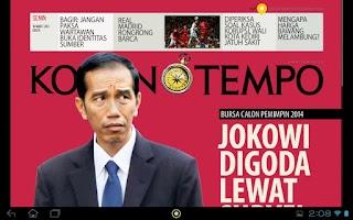 Screenshot of Tempo Media Apps