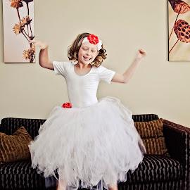 WhoooHoooo by Alan Evans - Wedding Other ( wedding photography, tutu, wedding day, wedding, white tutu, aj photography, getting ready, flower girl,  )
