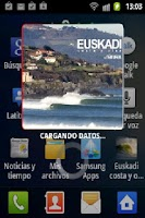 Screenshot of Euskadi costa y olas