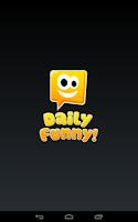 Screenshot of Daily Funny