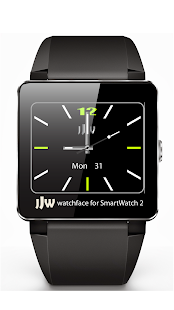 JJW Elegant Watchface 4 SW2 - screenshot