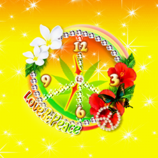 Tropical Reggae ClockWidget LOGO-APP點子