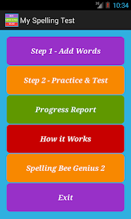 My Spelling Test Pro - screenshot