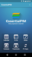 Screenshot of EssentialPIM