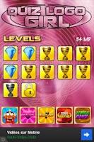 Screenshot of Quiz Logo Girl