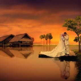 by Daniel Chang - Wedding Bride & Groom (  )
