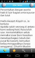 Screenshot of Sahih Muslim(Hadith) Indonesia