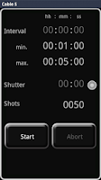 Screenshot of DSLR Remote