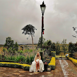 Peace an tranquility. by Carine Smit - Wedding Bride & Groom