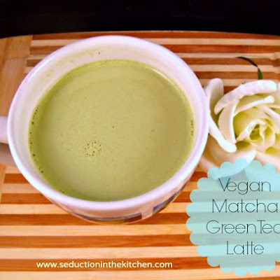 Vegan Green Tea Latte