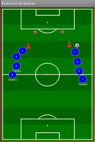 Soccer Practice Organizer