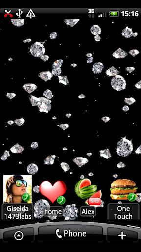 Rain of Diamonds LiveWallpaper