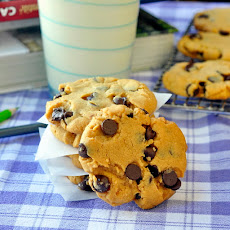 Soy Butter Chocolate Chip Cookies - An Allergy Alternative to Peanut Butter Cookies