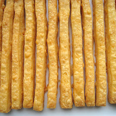 Cheese Straws (by Edna Lewis and Scott Peacock)