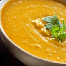 Thai Pumpkin Soup With Peanut Butter