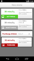Screenshot of m.Ticket