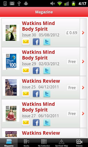 Mind Body Spirit Books Watkins