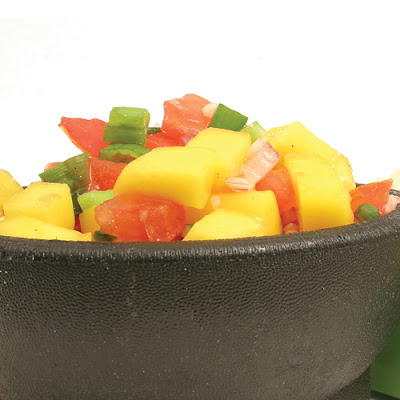 Red Pepper & Mango Salsa