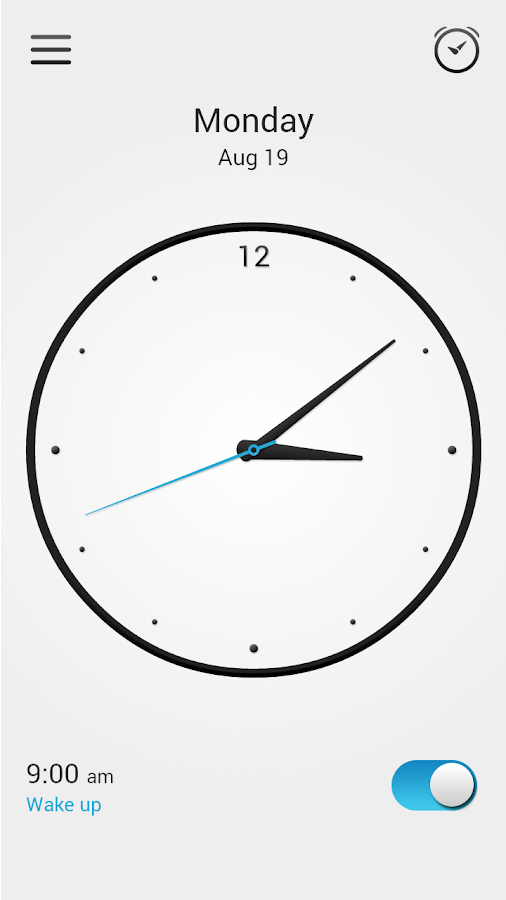 Alarm Clock Screenshot 2