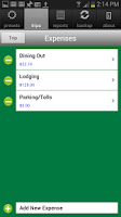 Screenshot of MileBug Mileage Log & Expenses