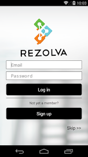 Rezolva - screenshot