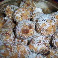 Golden Granita Fruit Balls