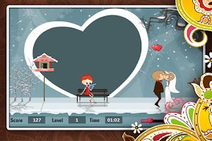 Screenshot of Wedding Couple Kiss