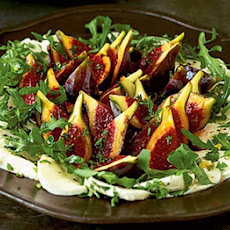 Marinated Fig & Mozzarella Salad