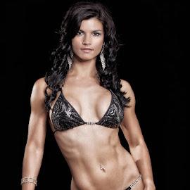 Female bodybuilder 5 by Gerhard Bouwer - Sports & Fitness Fitness ( bikini model, fitness model, south africa, bodybuilding, western cape )