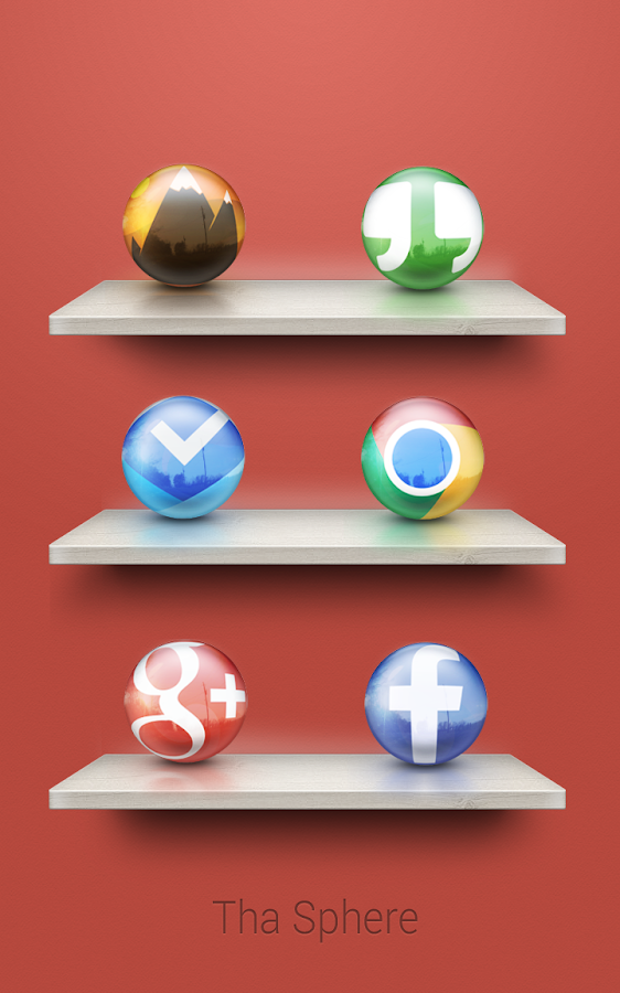 Tha Sphere - Icon Pack Screenshot 3