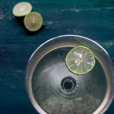 Elderflower Gimlet