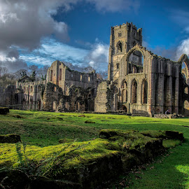 Fountains Abbey by Kyle Smith - Buildings & Architecture Public & Historical