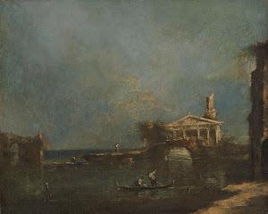 RIJKS: attributed to Francesco Guardi: painting 1800