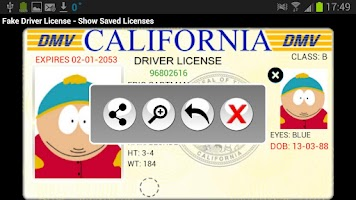 Screenshot of Driver License Generator