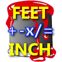 Feet Inch Material Calculator icon