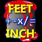 Feet Inch Material Calculator icon