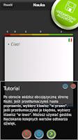 Screenshot of mFISZKI Włoski Słownictwo 1