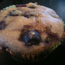 No Egg, No Oil, No Sugar Blueberry Muffins