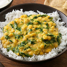 Easy Spinach Dal (Dhal, Dhall)
