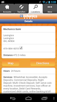 Screenshot of Mechanics Bank-Mobile Banking