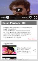 Screenshot of Telugu One Movies