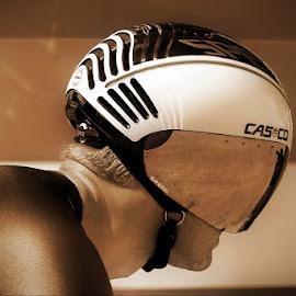 futuristic helmet by Boštjan Henigman - Sports & Fitness Cycling ( cycling )